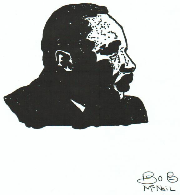 MLK by Bob McNeil