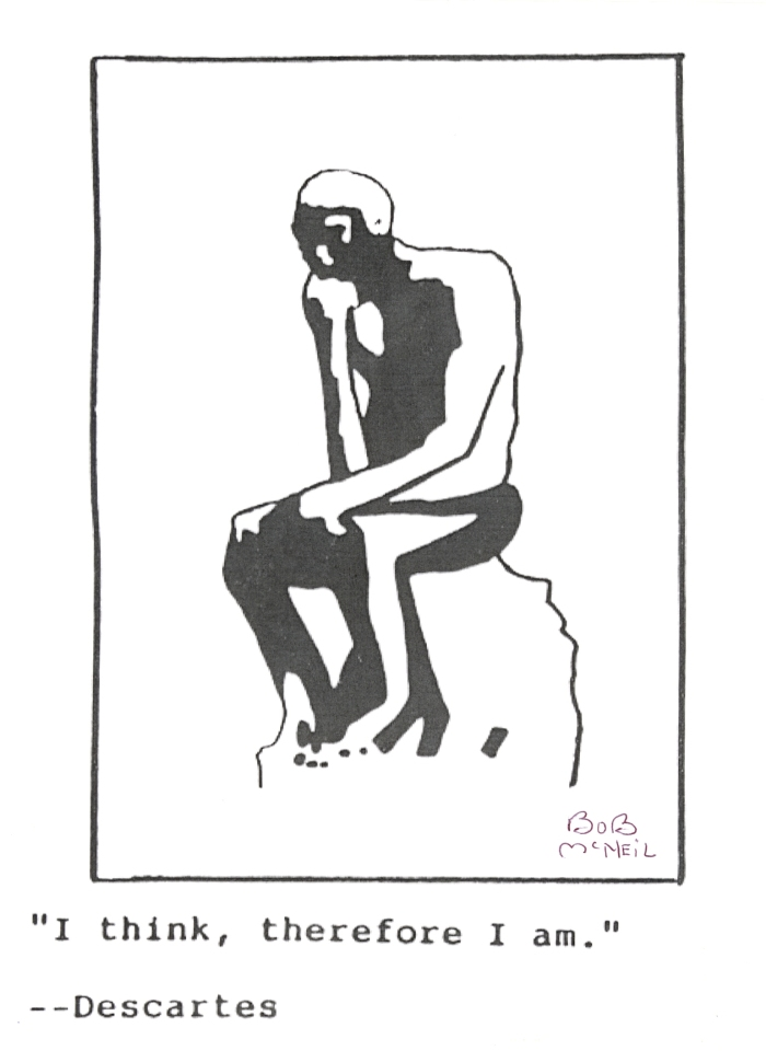 The Thinker by Bob McNeil